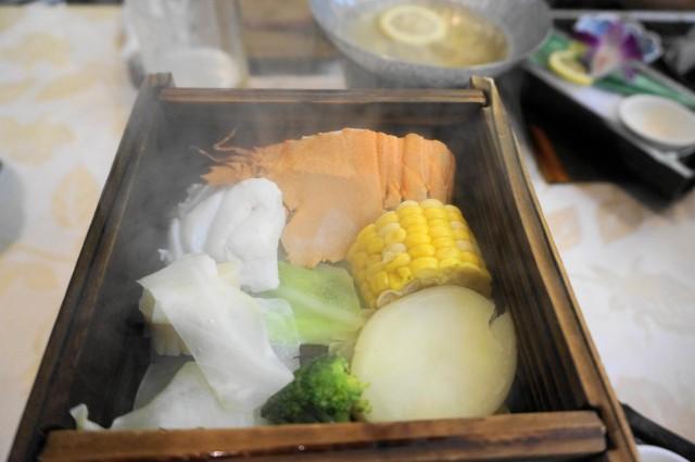雲仙湯元ホテルの夕食2